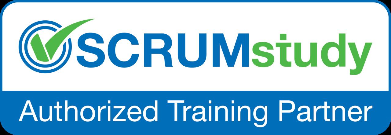 Logo Partner acreditado ScrumStudy